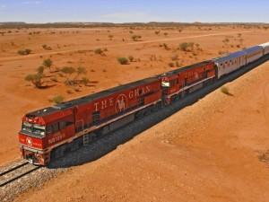 treno ghan australia