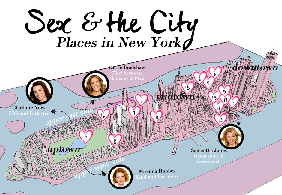 new york sex & the city